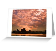 Clouds Over Kentucky Greeting Card
