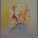 Fast colored pencil portrait by Noel78
