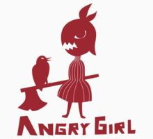 Angry Girl by pencilplus