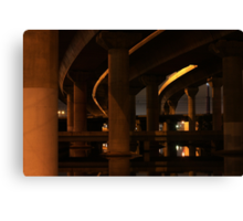 Under the Freeway Canvas Print