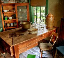 The Housekeeper's Kitchen at Buda by Christine Smith