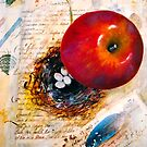 I Sent an Apple to my Love... by © Janis Zroback