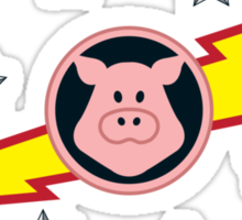 Pigs in Space Sticker