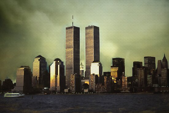 Twin Towers by Duckydaddles