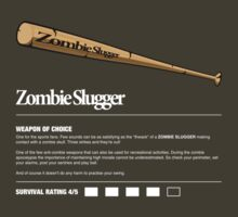 Zombie Weapons - Baseball Bat by robotrobotROBOT
