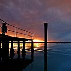 Tippler's Sunset - South Stradbroke Island by Beth  Wode