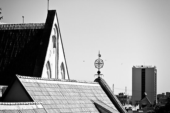 Tallinn, Old Town by tutulele