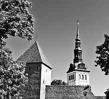 Toompea, Old Town by tutulele