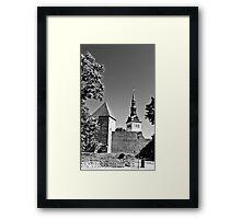 Toompea, Old Town Framed Print