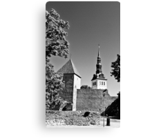 Toompea, Old Town Canvas Print
