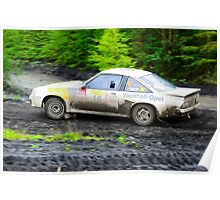 Opel Manta 400 Poster