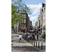 Amsterdam: Old Town Ways Photographic Print