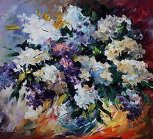 Lilac - Leonid Afremov by Leonid  Afremov