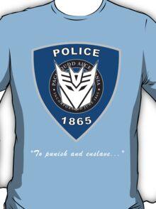 Transformers - Police T-Shirt