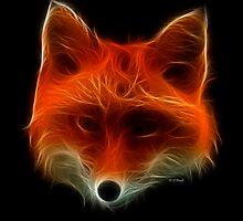 Fox- Medicine Wheel Power Animals by Liane Pinel by Liane Pinel