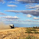 Following a Road Train by kristyimages