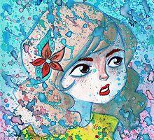 Watercolor Girl by SaradaBoru