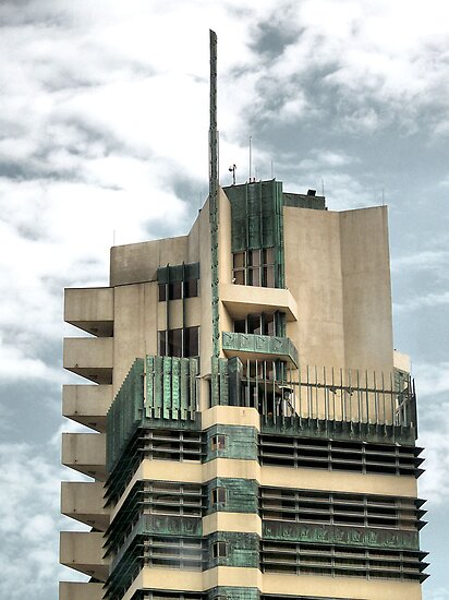 Price Tower, Bartlesville, Oklahoma, Frank Lloyd Wright by Crystal Clyburn