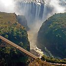 Zambezi exiting Victoria Falls by Graeme  Hyde