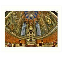 Basilica Della Santa Casa Art Print