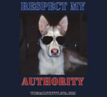 """The Daily Kitty """"Respect My Authority"""" Kids Clothes"""