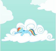 Sleeping Pony Poster by Stinkehund