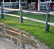 Puddle Fence by phil decocco