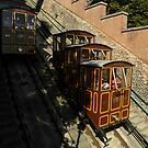 Budapest, Hungary, Castle Hill Funicular, 2011.August by Lyz48