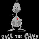"Rick the chick ""X RAY"" by CLAUDIO COSTA"