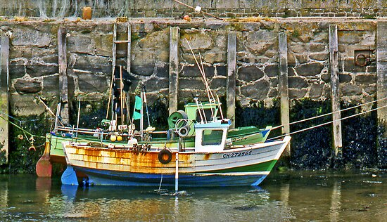 Fishing boats at St-Vaast-la-Hougue by cclaude
