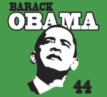 Kids Barack Obama 44th President by ObamaShirt