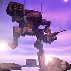 Rusting Mech by Curtiss Shaffer