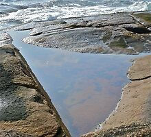 Shapes Along The Shore - Blackpoint  -Narragansett, RI  (b) by Jack McCabe