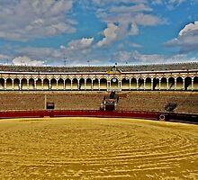 Arena de Torros - Sevilla by Juergen Weiss