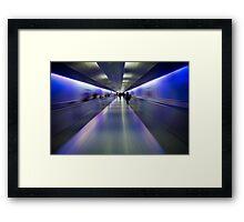 Departure- German Airport Framed Print