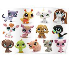 Lily's Little Pet Shop Collection Poster