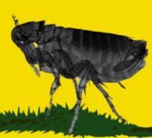Flea Party Sticker