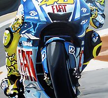 Rossi racing by db artstudio by Deborah Boyle