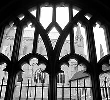 Chichester Cathedral Arches by Victoria Ellis