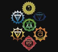 Chakras by saleire