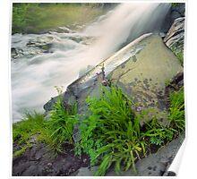 Waterfall Vignette Poster