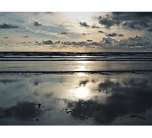 Evening on the beach Photographic Print