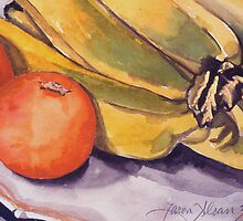 Bananas & Blood Oranges Still-Life by cszuger