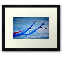 Red Arrows - A Tribute Framed Print