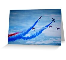 Red Arrows - A Tribute Greeting Card