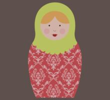 Matryoshka Doll #8 by melissagavin