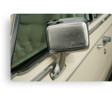 Caddy Mirror Canvas Print