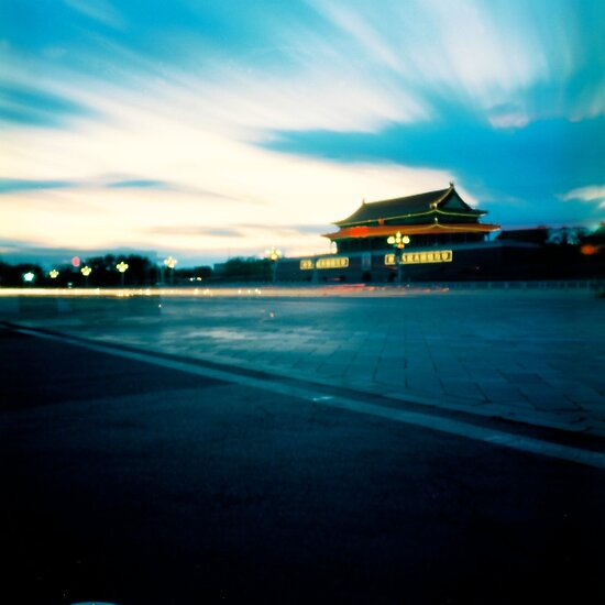 Pinhole Photography: Tian An Men Square by Gamal Istiyanto