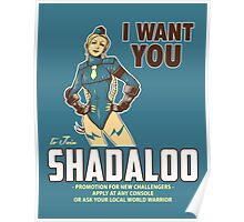 Shadaloo Wants YOU! Poster
