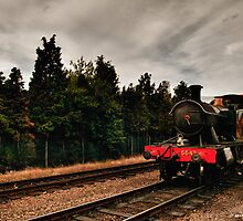5542 at Loughborough by David J Knight